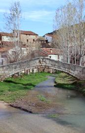 Bridge of Miravete de la Sierra